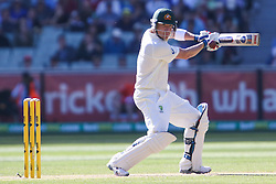 © Licensed to London News Pictures. 27/12/2013. Brad Haddin batting during Day 2 of the Ashes Boxing Day Test Match between Australia Vs England at the MCG on 27 December, 2013 in Melbourne, Australia. Photo credit : Asanka Brendon Ratnayake/LNP