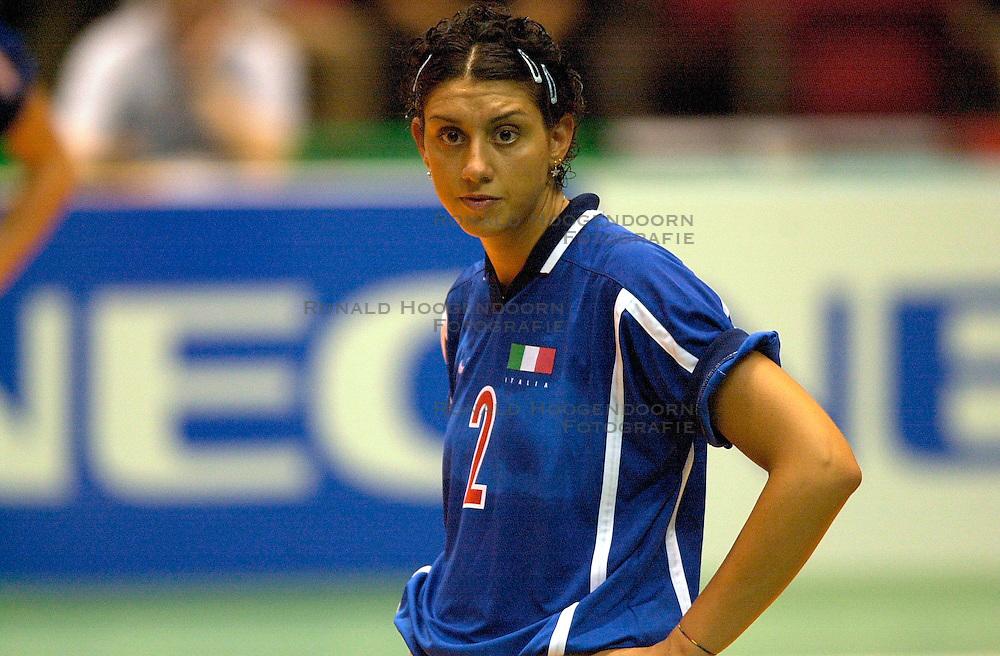 17-06-2000 JAP: OKT Volleybal 2000, Tokyo<br /> Nederland - Italie 2-3 / Simona Rinieri
