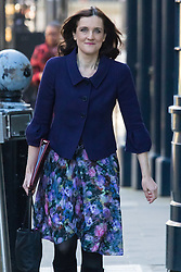 Downing Street, London, February 23rd 2016. Northern Ireland Secretary Theresa Villiers arrives at the weekly cabinet meeting.  ©Paul Davey<br /> FOR LICENCING CONTACT: Paul Davey +44 (0) 7966 016 296 paul@pauldaveycreative.co.uk