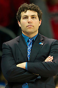DALLAS, TX - FEBRUARY 01: Memphis Tigers head coach Josh Pastner looks on against the SMU Mustangs on February 1, 2014 at Moody Coliseum in Dallas, Texas.  (Photo by Cooper Neill/Getty Images) *** Local Caption *** Josh Pastner