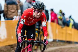 ROCHETTE Maghalie (CAN) during Women Elite race, 2019 UCI Cyclo-cross World Cup Heusden-Zolder, Belgium, 26 December 2019.  <br /> <br /> Photo by Pim Nijland / PelotonPhotos.com <br /> <br /> All photos usage must carry mandatory copyright credit (Peloton Photos   Pim Nijland)