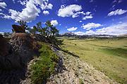 Summer on the Rocky Mountain Front near Augusta, Montana.