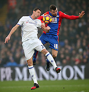 Crystal Palace's James McArthur tussles with Chelsea's Nemanja Matic during the Premier League match at Selhurst Park Stadium, London. Picture date December 17th, 2016 Pic David Klein/Sportimage
