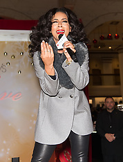 Keri Hilson Celebrates Macy's Center City Holiday Window Unveiling - 17 Nov 2018