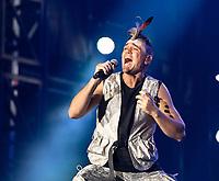 mitch tambo at Fire Fight Australia at the  ANZ Stadium Sydney Australa 16 Feb 2020 Photo BY Rhiannon Hopley
