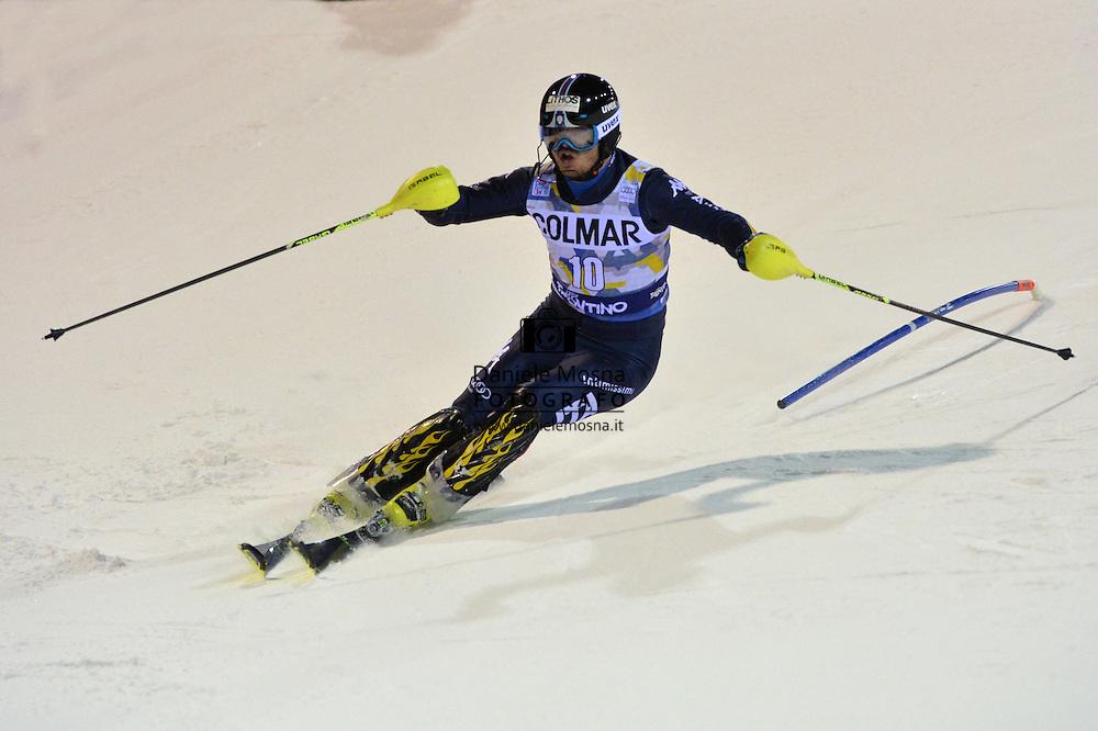 62A 3Tre Coppa del Mondo di Sci Alpino Slalom Gigante Maschile sulla pista 3Tre Canalone Miramonti,RAZZOLI GIULIANO 22 Dicembre 2015 a Madonna di Campiglio, © foto Daniele Mosna