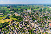 Nederland, Gelderland, Gemeente Zevenaar, 29-05-2019; overzicht centrum van Zevenaar, Schoolstraat, Grietsestraat, winkelcentrum.<br /> City centre Zevenaar.<br /> luchtfoto (toeslag op standard tarieven);<br /> aerial photo (additional fee required);<br /> copyright foto/photo Siebe Swart