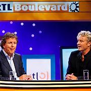 NLD/Hilversum/20100819 - RTL perspresentatie 2010, Robert ten Brink en Erland Galjaard