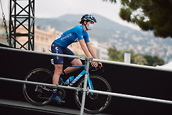 Aude Biannic (FRA) at the 2020 La Course By Le Tour with FDJ, a 96 km road race in Nice, France on August 29, 2020. Photo by Sean Robinson/velofocus.com