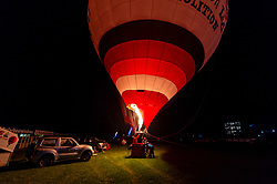 A general view of the Hot Air Balloons at Bath Racecourse during the Light Up Lansdown festival - Ryan Hiscott/JMP - 02/11/2018 - COMMERCIAL - Bath Racecourse - Bath, England - Light Up Lansdown