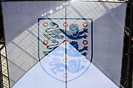 England crest  during the FIFA World Cup Qualifier match between England and Slovakia at Wembley Stadium, London, England on 4 September 2017. Photo by Sebastian Frej.