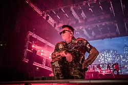 December 16, 2018 - Rome, Italy - Italian rapper Salmo performs live in Rome at Palazzo dello Sport for his Playlist Tour 2018/2019. (Credit Image: © Danilo D'Auria/Pacific Press via ZUMA Wire)