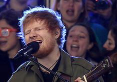 Ed Sheeran live at NBC 'Today Show 8 Mar 2017