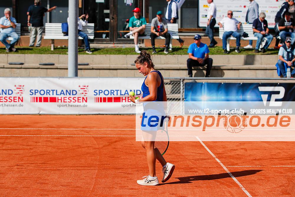 Ylena In-Albon (SUI) - WTO Wiesbaden Tennis Open - ITF World Tennis Tour 80K, 24.9.2021, Wiesbaden (T2 Sport Health Club), Deutschland, Photo: Mathias Schulz