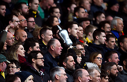 General view of Watford fans