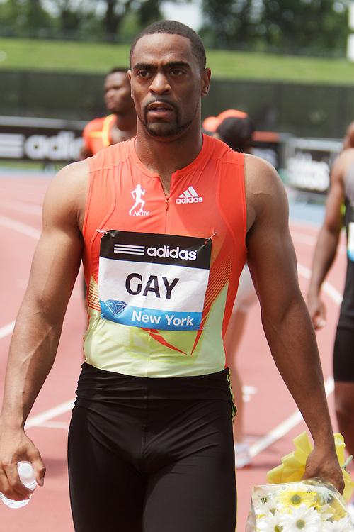Samsung Diamond League adidas Grand Prix track & field; Tyson Gay