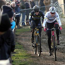 27-12-2019: Wielrennen: DVV veldrijden: Loenhout: Maghali Rochette