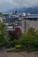 Downtown Juneau & Cruise Ships