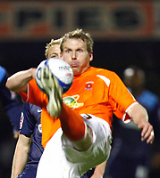 Richie Humphreys of Hartlepool Southend United v Hartlepool United at Roots Hall Southend-on-Sea<br /> 27/03/2009. Credit  Colorsport / Kieran Galvin