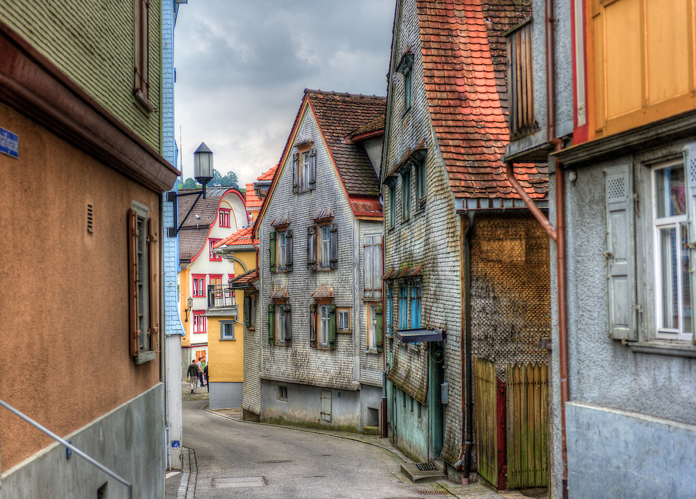 Appenzell old city