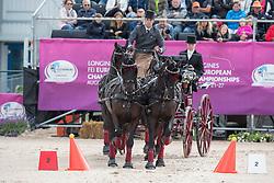 Simonet Edouard, BEL, Bouke, Dark Dream, El Fierro v Vemmekeshoeve d 07<br /> FEI European Driving Championships - Goteborg 2017 <br /> © Hippo Foto - Dirk Caremans