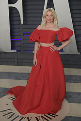 February 24, 2019 - Beverly Hills, California, U.S - Elizabeth Banks on the red carpet of the 2019 Vanity Fair Oscar Party held at the Wallis Annenberg Center in Beverly Hills, California on Sunday February 24, 2019. JAVIER ROJAS/PI (Credit Image: © Prensa Internacional via ZUMA Wire)