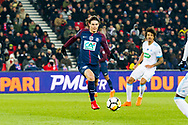 Edinsom Cavani (psg) during the French Cup football match between Paris Saint-Germain and Marseille on February 28, 2018 at Parc des Princes Stadium in Paris, France - Photo Pierre Charlier / ProSportsImages / DPPI