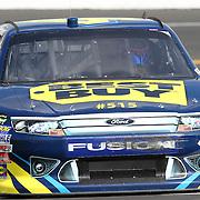 Sprint Cup Series driver AJ Allmendinger (43) at Daytona International Speedway on February 18, 2011 in Daytona Beach, Florida. (AP Photo/Alex Menendez)