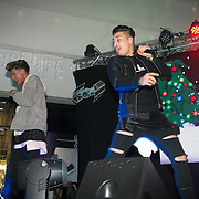 Franklin Lake preforms at X-Factor's Sam Lavery to Switch on Christmas Lights at Stratford Centre inside Stratford Shopping Centre, 26th November 2016, London,UK. Photo by See Li