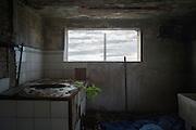Ambienti dell'impianto industriale Acciaierie Scianatico, in stato di totale abbandono dagli anni ottanta. Bari, 29 dicembre 2013. Christian Mantuano / OneShot