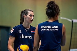 28-12-2019 NED: Pressmoment Volleyball, Arnhem<br /> Volleyball women & men have a final training and press conference before they leave for Olympic Qualification Tournament / Robin de Kruijf