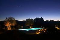 Islas Baleares. Ibiza.<br /> Piscina del agroturismo Ca n'Escandell.<br /> <br /> © JOAN COSTA