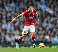 Manchester United's Angel Di Maria in action<br /> <br /> - Barclays Premier League - Manchester City vs Manchester Utd - Etihad Stadium - Manchester - England - 2nd November 2014  - Picture David Klein/Sportimage