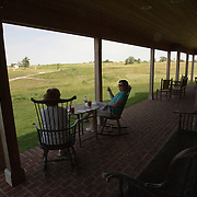 The clubhouse at Erin Hills Golf Course in Erin, Wisconsin, home to the 2017 US Open. Please send licensing requests to legal@toddbigelowphotography.com Please send licensing requests to legal@toddbigelowphotography.com
