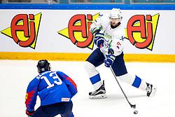 David Rodman of Slovenia during ice hockey match between South Korea and Slovenia at IIHF World Championship DIV. I Group A Kazakhstan 2019, on April 30, 2019 in Barys Arena, Nur-Sultan, Kazakhstan. Photo by Matic Klansek Velej / Sportida