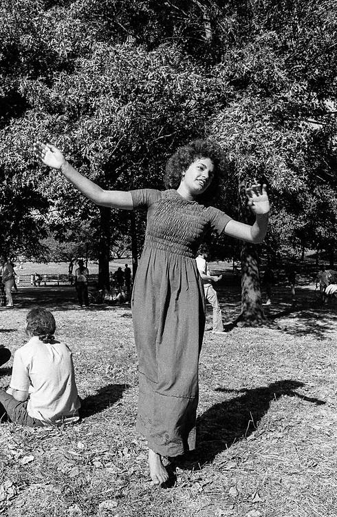 1972. Central Park.