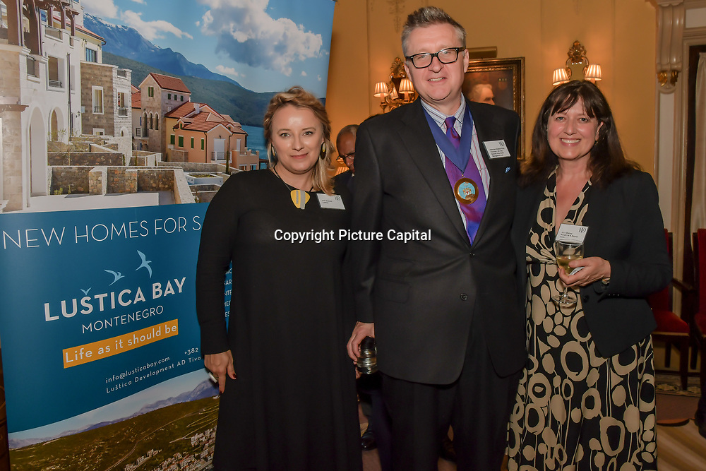 London, England, UK. 2nd May 2019. Lustica Bay sponsor the Property Group Networking drinks at East India Club.