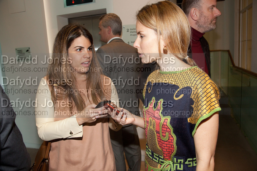 FERNANDA ABDALLA; CAROLINA REID, Phillips de Pury and Company.- BRIC- Exhibition and auction celebrating Brazil, Russia, India and China at the Saatchi Gallery. London.  17 April 2010.