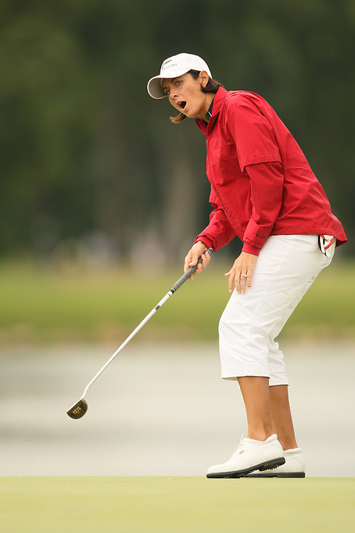 Laura Diaz during the third round of the 2008 United States Women's Open Championship at Interlachen Country Club in Edina, Minnesota on Saturday, June 28, 2008. .
