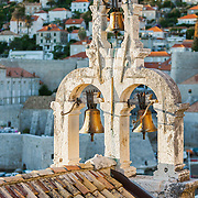 The bells of St. Sebastian Church in Dubrovnik, Croatia. <br />
