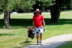 Matjaz Kopitar at Anze's Eleven and Triglav Charity Golf Tournament, on June 30, 2012 in Golf court Bled, Slovenia. (Photo by Matic Klansek Velej / Sportida)