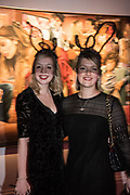 SHARON DONNELY; POPPY SQUIRE, Sotheby's Erotic sale cocktail party, Sothebys. London. 14 February 2018