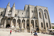 Palais des Papes, Papal palace Avignon, France