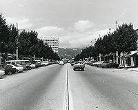 1977 Looking north on Larchmont Blvd.