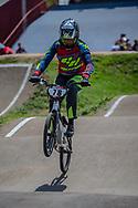 2018 UCI BMX Supercross<br /> Round 7 Santiago Del Estero (Argentina)<br /> Elite Women<br /> Practice<br /> #78 (REIS SANTOS Paola) BRA