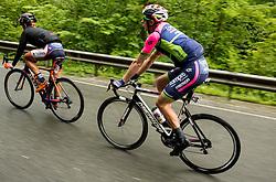 Bisolti Alessandro (Italy) of Nippo - Vini Fantini, Kump Marko (Slovenia) of Lampre Merida during Stage 4 of 23rd Tour of Slovenia 2016 / Tour de Slovenie from Rogaska Slatina to Novo mesto (165,5 km) cycling race on June 19, 2016 in Slovenia. Photo by Vid Ponikvar / Sportida