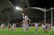 Alister Campbell (Rebels)<br /> Melbourne Rebels v The Hurricanes<br /> Rugby Union - 2011 Super Rugby<br /> AAMI Park, Melbourne VIC Australia<br /> Friday, 25 March 2011<br /> © Sport the library / Jeff Crow