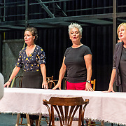 NLD/Aalsmeer/20170921 - Perspresentatie Fiddler on the Roof, Yardeen Roos, Judith Linsen, Doris Baaten en