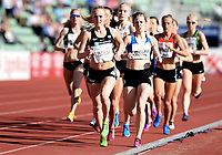 Friidrett ,  11. juni 2015 , Diamond League , Bislett Games , Oslo<br />  Atheltics<br /> 1500 m<br /> Elisabeth Angell Bergh , NOR