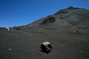 The lunar landscape of Fogo's volcano attracts great part of the tourists in this island. The climbing to its 2.829m peak can take four hours, while descending is faster taking sometimes less than forty five minutes.